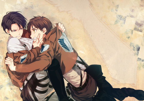 Eren x Reader x Levi: Ch2: Cleaning and Secrets by