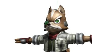 Fox McCloud MMD/Obj Resource - Outdated by lynxhesh