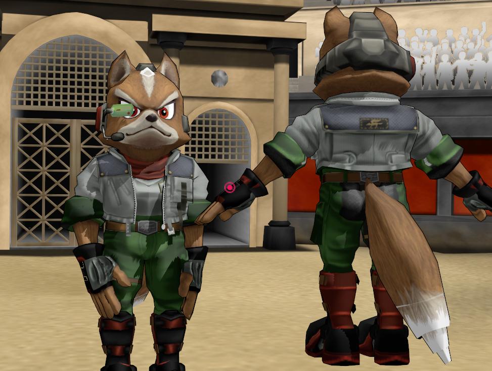 Fox mccloud brawl - photo#21