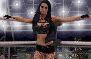 WWE 2k16 Paige WIP + DL by lynxhesh