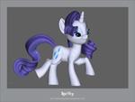 3D PDF Rarity by KP-ShadowSquirrel