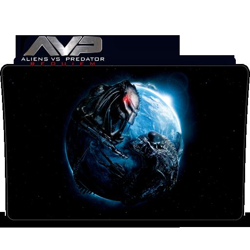 Aliens Vs Predator Requiem Folder Icon By Hung01 On Deviantart