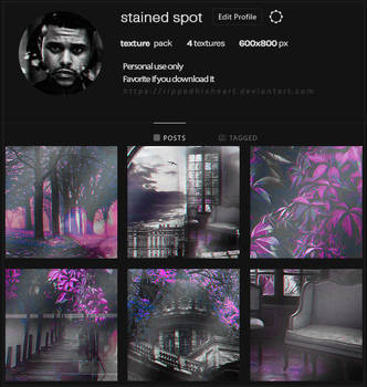 [01]. Texture Pack // Stained Spot