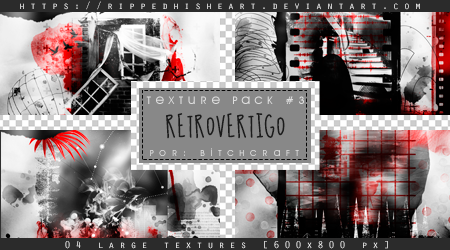TEXTURE PACK 03# Retrovertigo by RippedHisHeart