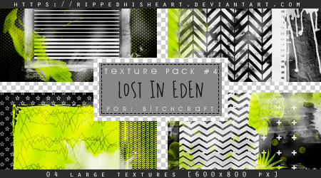 TEXTURE PACK 04# Lost In Eden by RippedHisHeart
