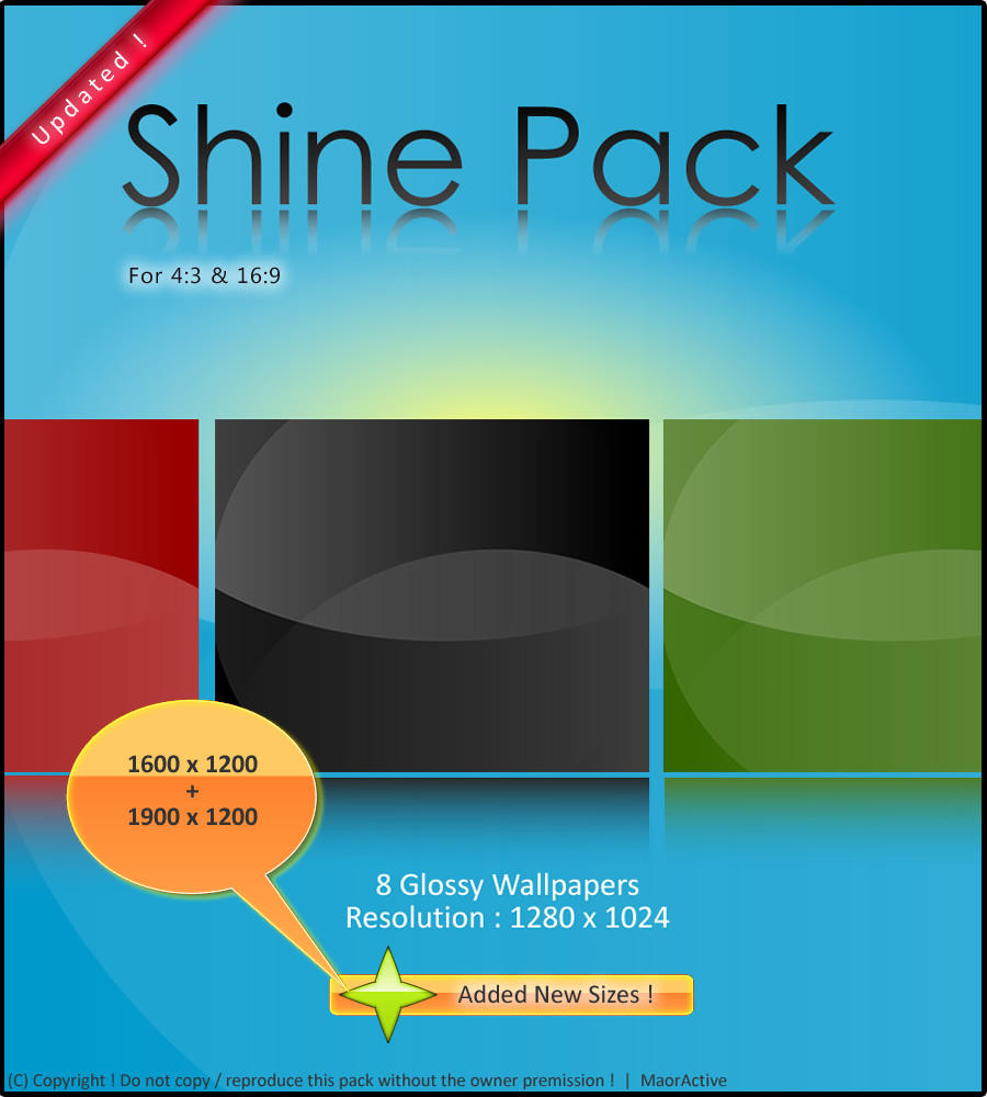 Shine Wallpaper Pack - Updated by maoractive