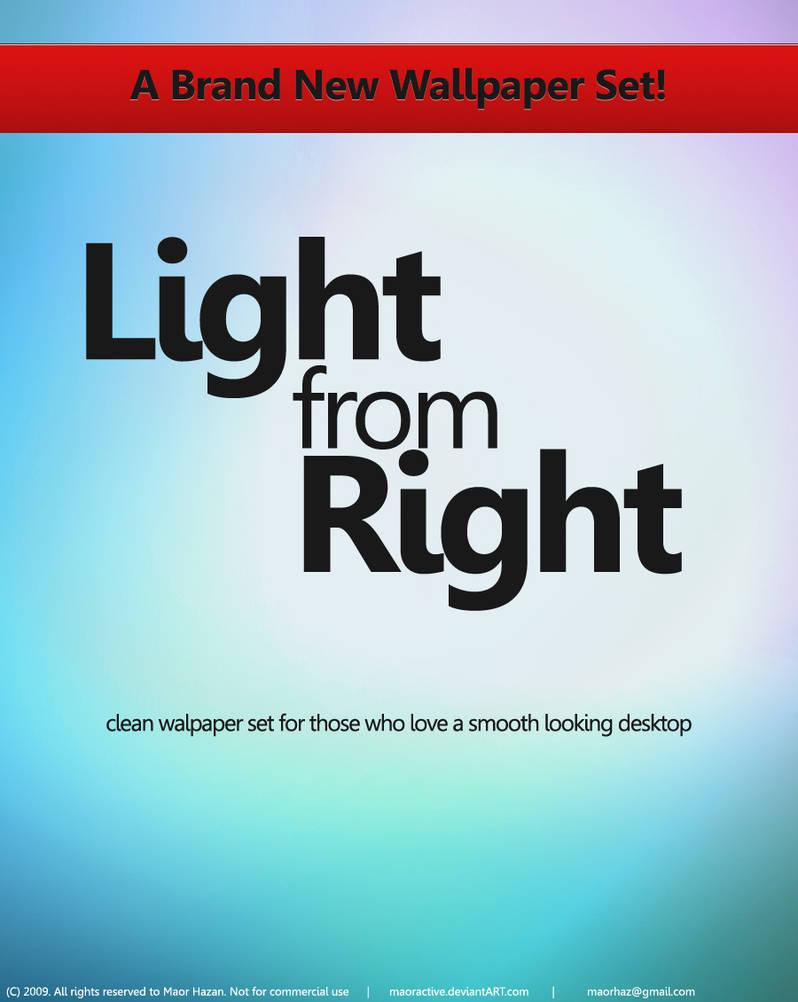 Light From Right Wallpaper