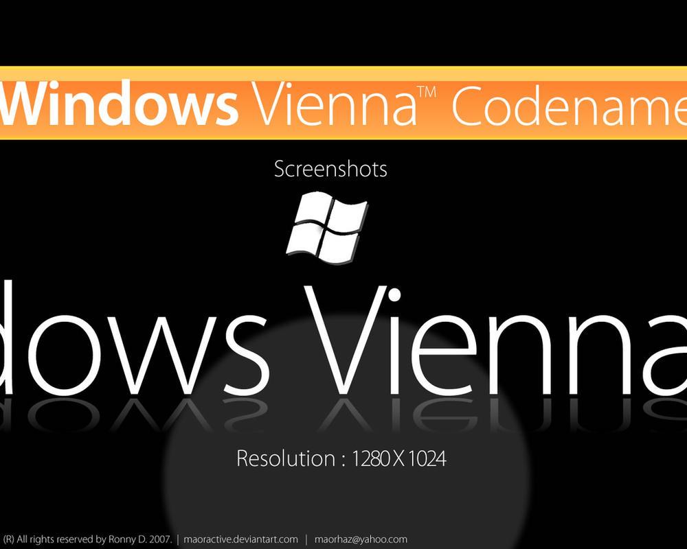 Windows Vienna Screenshots by maoractive