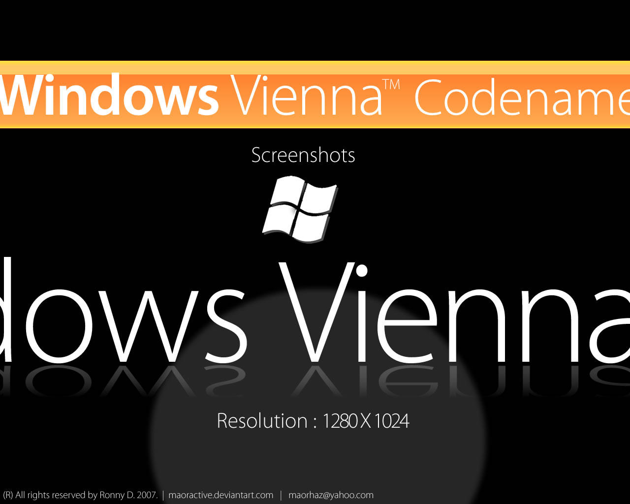 Windows Vienna Screenshots by maoractive