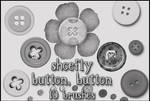 Buttons brush set by shoe-fly