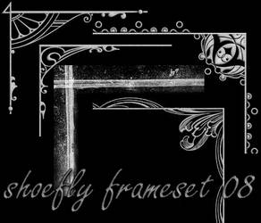 Photoshop frame set 08