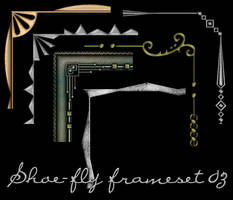 Photoshop frame set 03 by shoe-fly