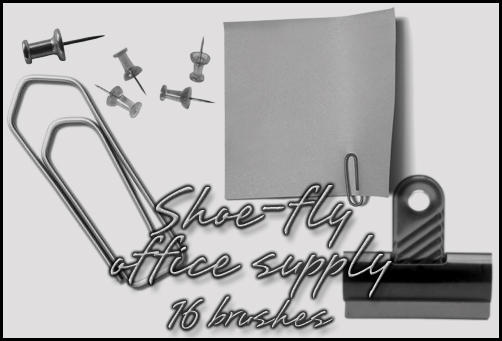 Office supply brush set by shoe-fly