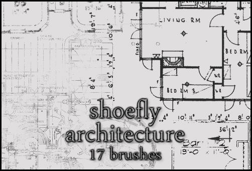 Architecture brush set by shoe-fly