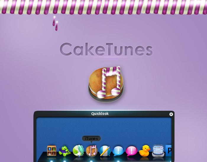CakeTunes icon by GLONERdesign