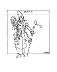 Belluck by WillMcLean