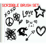 Scribble Brushes by itsreality