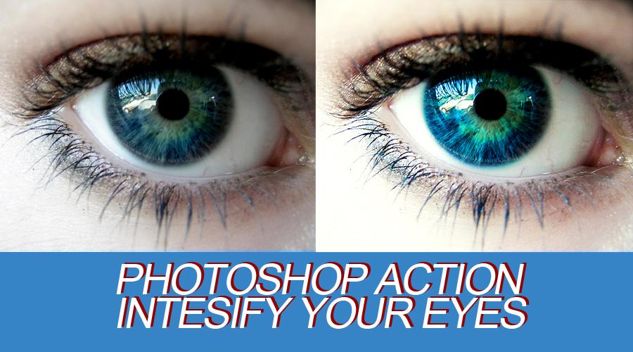 Photoshop Action - Bright Eyes