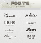 New Fonts [ #1 PACK ]