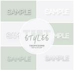 Text Styles  [ styles ]