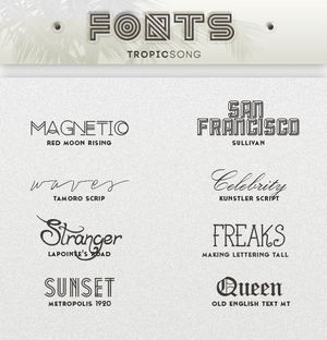 New Fonts [ #3 PACK ]