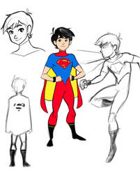 Superboy redesign by Salman64