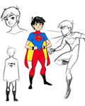 Superboy redesign