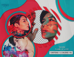 TAEMIN- FLAME OF LOVE by SHINeeEditions