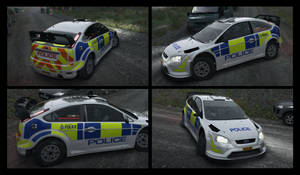 Dirt Rally Ford Focus RS 2007 Livery.