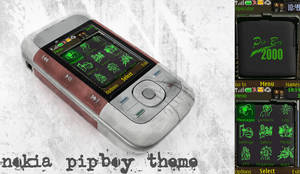 nokia pipboy theme by santiagocamps