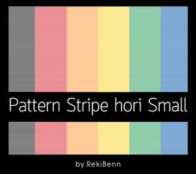 Pattern Stripe hori Small by TheSeekerReki
