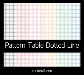 Pattern Table Dotted Line by TheSeekerReki