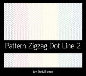 Pattern Zigzag Dot Line 2 by TheSeekerReki