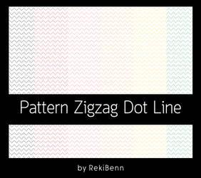 Pattern Zigzag Dot Line by TheSeekerReki