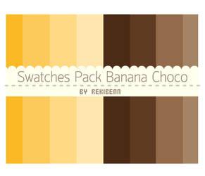 Swatches pack banana choco by TheSeekerReki