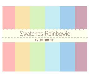 Swatches Rainbowie by TheSeekerReki