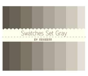 Swatches set gray by TheSeekerReki