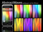 Abstract Waves iPhone Pack