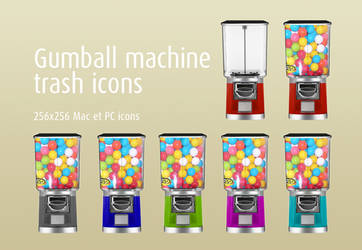 Gumball Machine trash pack by Pinkie75