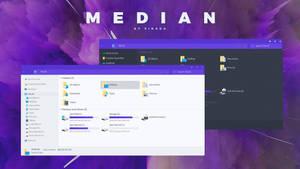 Median Windows 10 Theme (build 1909)