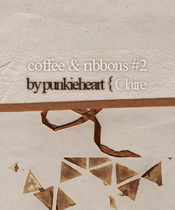 coffee and ribbons nr.2 by punkieheart