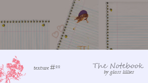 The Notebook: Textures by lilyrach