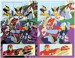 Avengers by Sandoval-Art [FLATS] by DalnAraidi