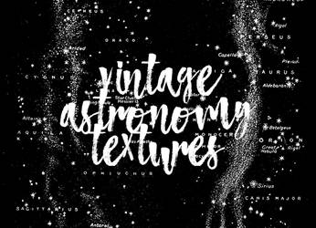 Vintage astronomy textures by teamenti