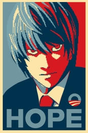 Light Obama Campaign Poster by Elle-Yuuki