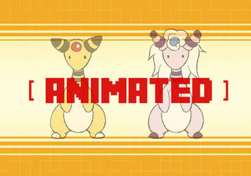 Ampharos (Animated) by LazyAmphy