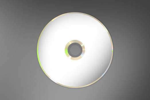 CD Template PSD 1000px