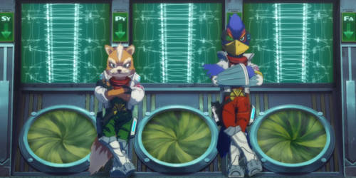 fox and falco
