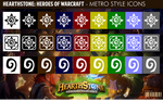 Hearthstone:Heroes of Warcraft - Metro Style Icons