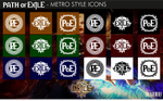 Path of Exile - Metro Style Icons